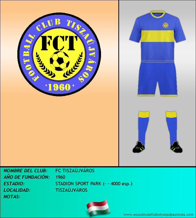 Escudo de FC TISZAÚJVÁROS