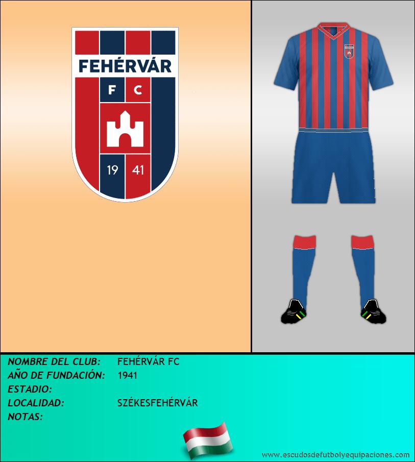 Escudo de FEHÉRVÁR FC