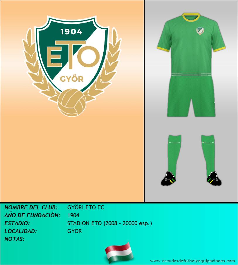 Escudo de GYÖRI ETO FC