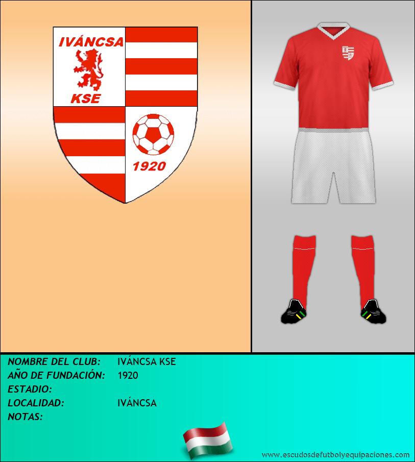 Escudo de IVÁNCSA KSE