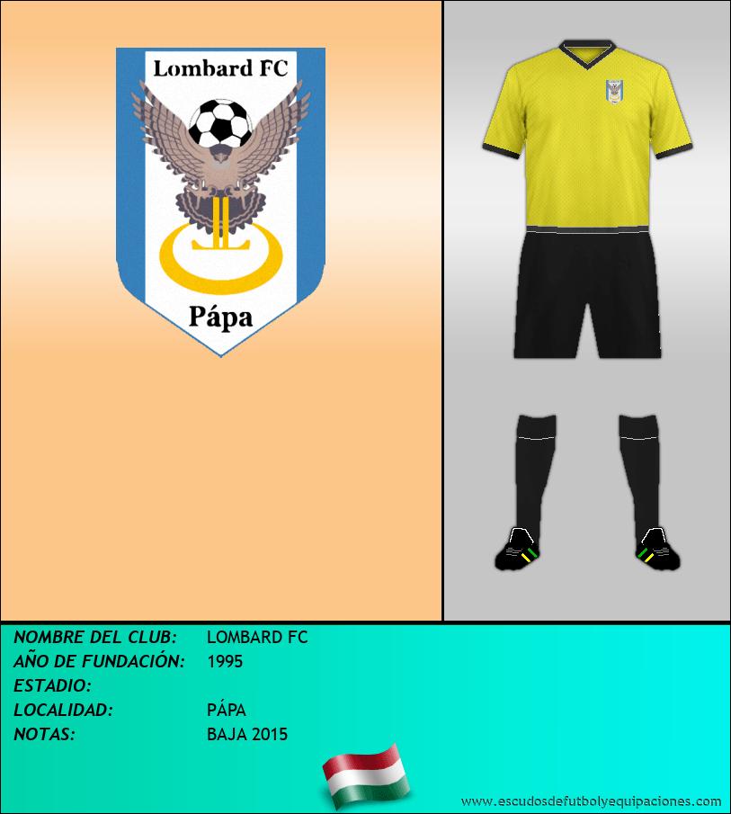 Escudo de LOMBARD FC
