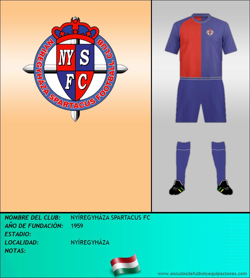 Escudo de NYÍREGYHÁZA SPARTACUS FC