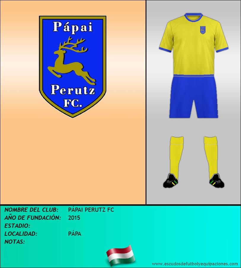 Escudo de PÁPAI PERUTZ FC