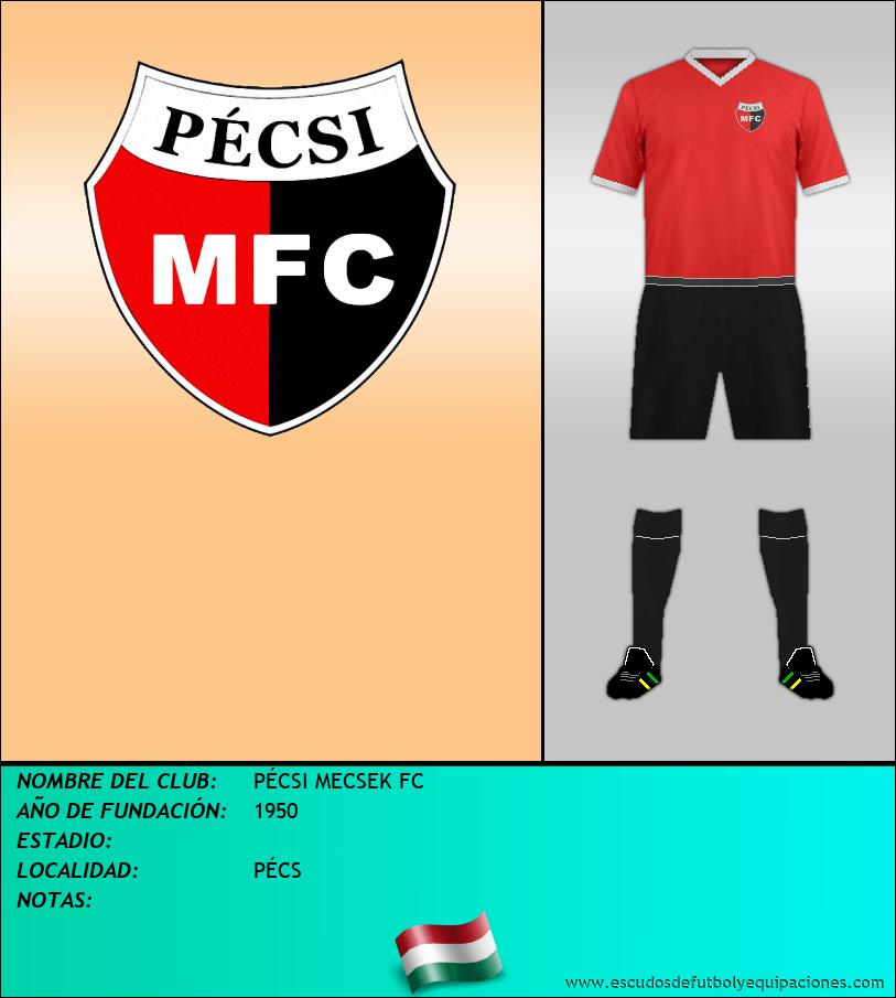 Escudo de PÉCSI MECSEK FC
