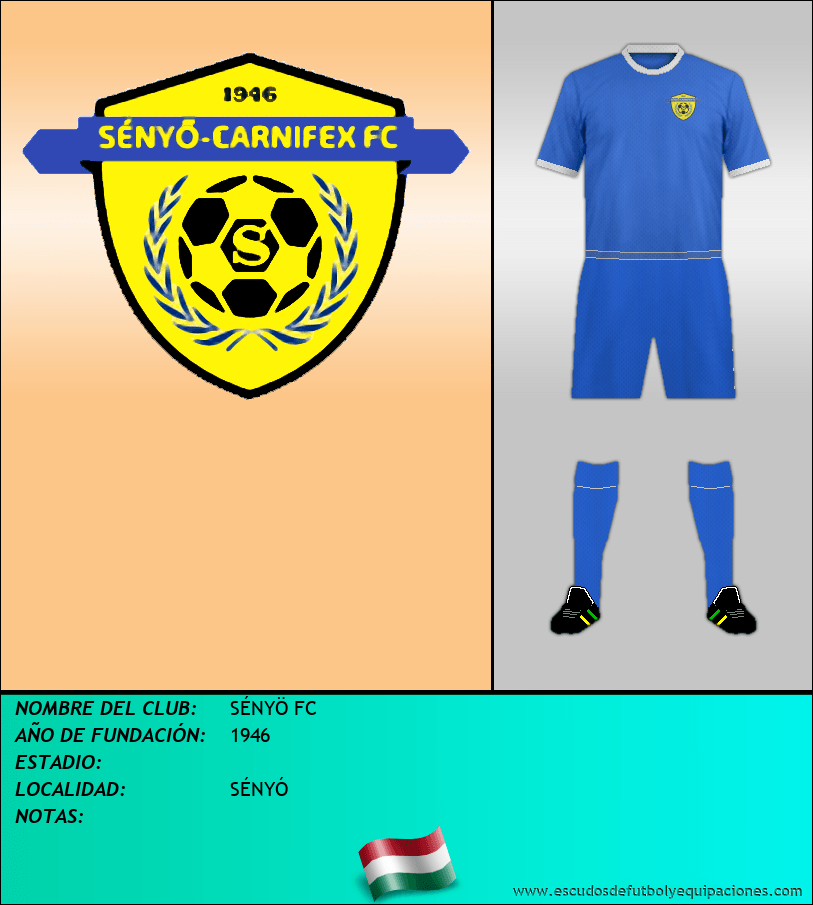 Escudo de SÉNYÖ FC
