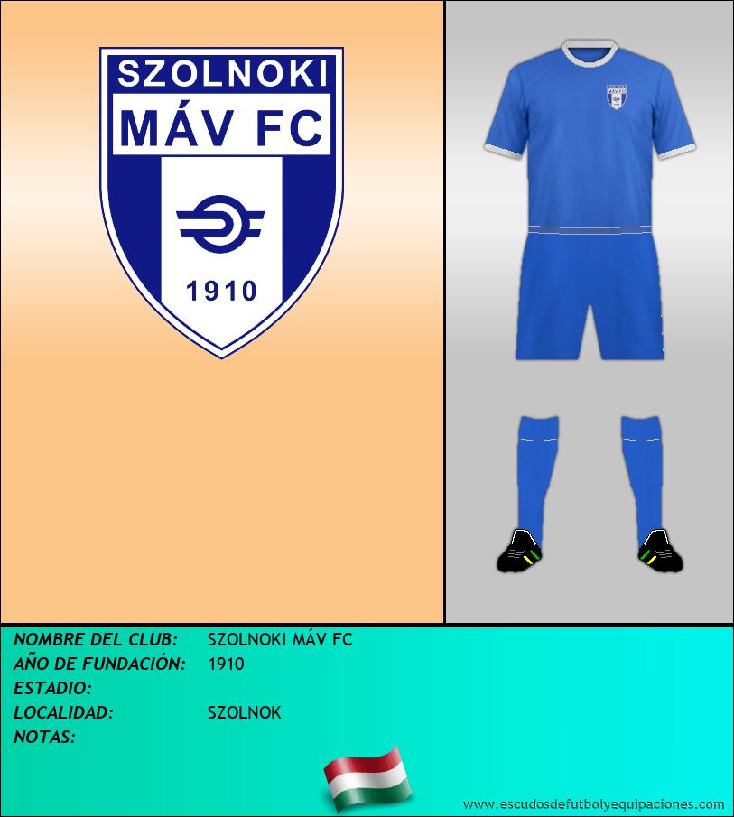 Escudo de SZOLNOKI MÁV FC