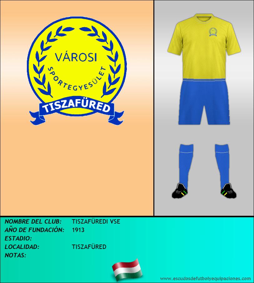 Escudo de TISZAFÜREDI VSE