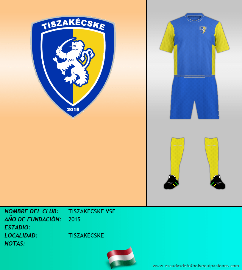 Escudo de TISZAKÉCSKE VSE