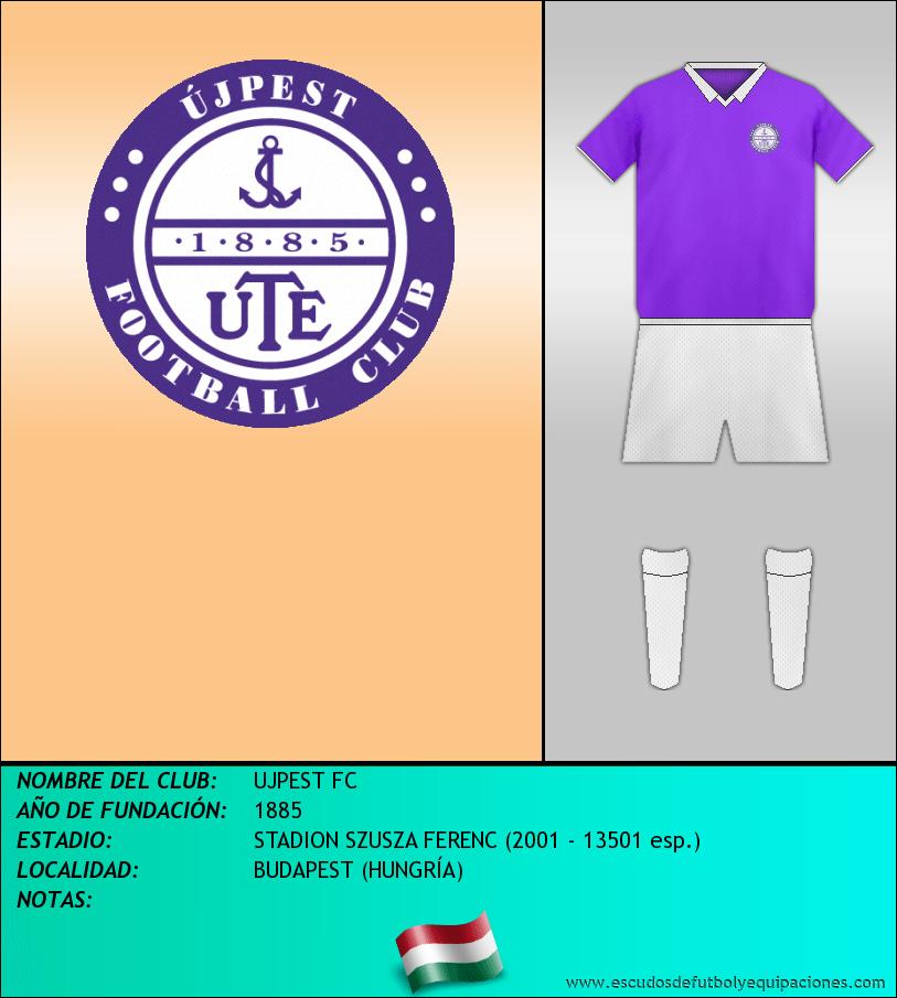 Escudo de UJPEST FC