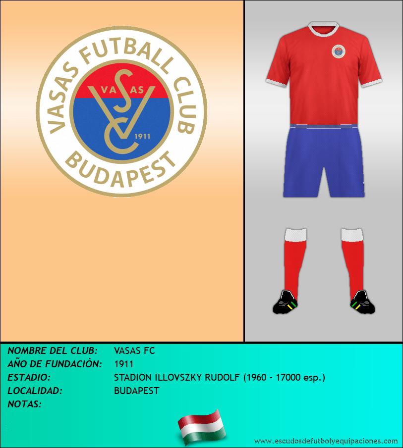 Escudo de VASAS FC