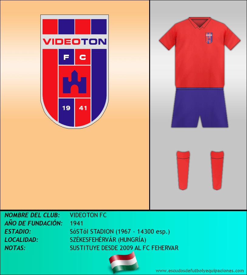 Escudo de VIDEOTON FC