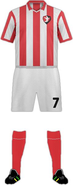 Equipación CHELTENHAM TOWN FC