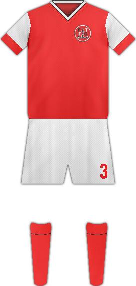 Equipación FLEETWOOD FC
