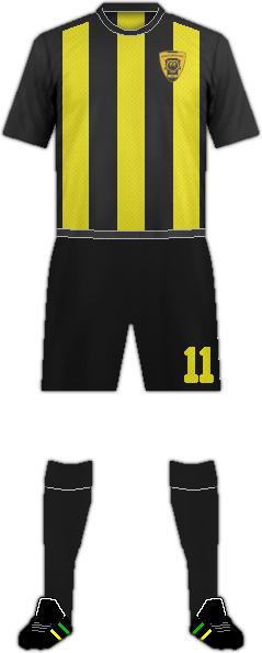 Equipación GLOUCESTER CITY AFC.