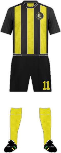 Equipación HARROGATE TOWN F.C.