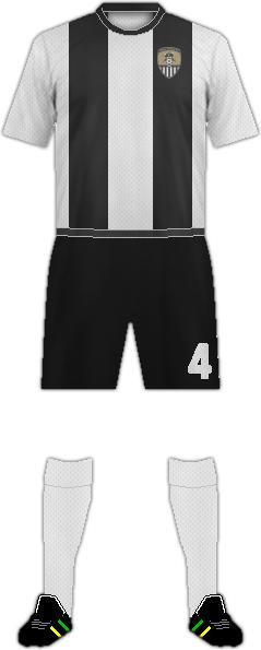 Equipación NOTTS COUNTY FC