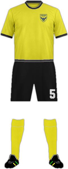 Equipación OXFORD UNITED FC