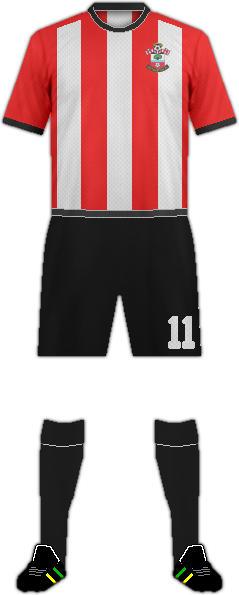 Equipación SOUTHAMPTON F.C.