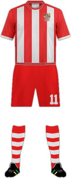 Equipación STEVENAGE FC