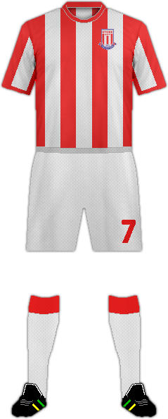 Equipación STOKE CITY FC