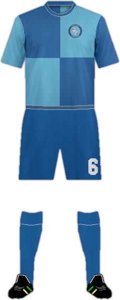 Equipación WYCOMBE WANDERERS FC