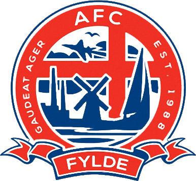 Escudo de A.F.C. FYLDE (INGLATERRA)