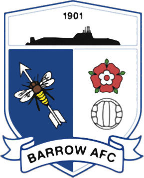 Escudo de BARROW A.F.C. (INGLATERRA)