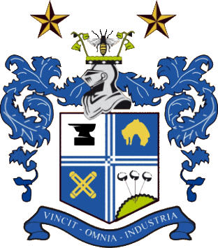 Escudo de BURY FC (INGLATERRA)