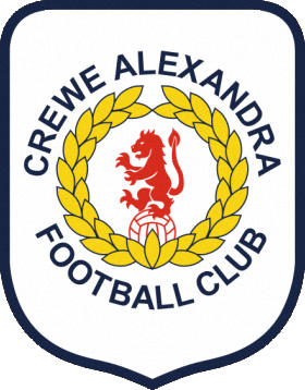Escudo de CREWE ALEXANDRA FC (INGLATERRA)