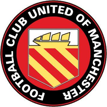 Escudo de F.C. UNITED OF MANCHESTER (INGLATERRA)