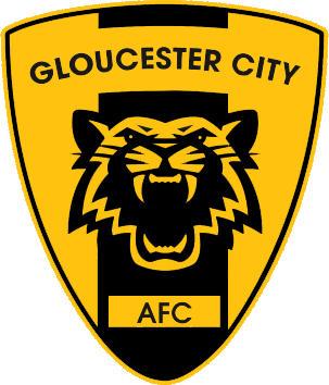 Escudo de GLOUCESTER CITY AFC. (INGLATERRA)