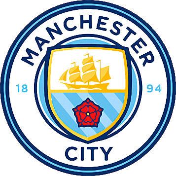 Escudo de MANCHESTER CITY FC (INGLATERRA)