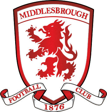 Escudo de MIDDLESBROUGH F.C. (INGLATERRA)