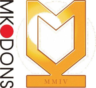 Escudo de MK DONS FC (INGLATERRA)
