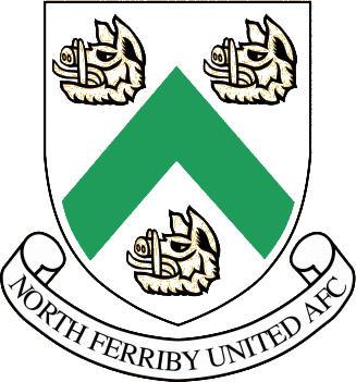 Escudo de NORTH FERRIBY UNITED A.F.C. (INGLATERRA)