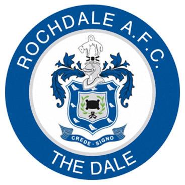 Escudo de ROCHDALE AFC (INGLATERRA)