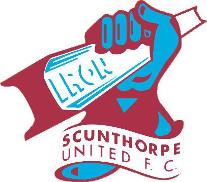 Escudo de SCUNTHORPE UNITED FC (INGLATERRA)