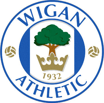 Escudo de WIGAN ATHLETIC F.C. (INGLATERRA)