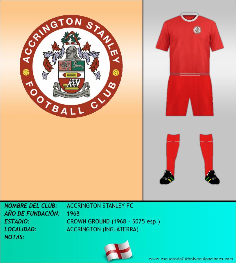 Escudo de ACCRINGTON STANLEY FC