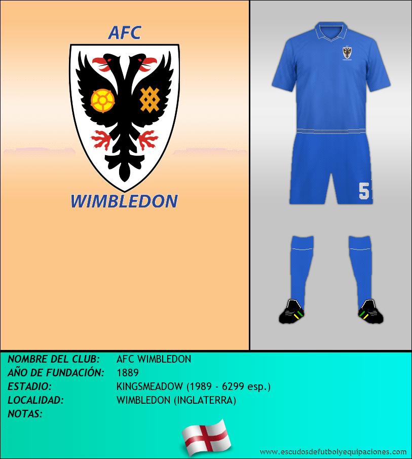 Escudo de AFC WIMBLEDON