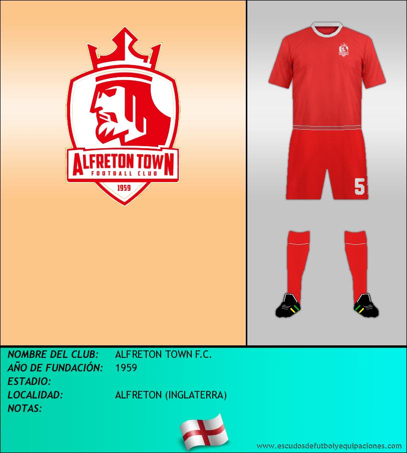 Escudo de ALFRETON TOWN F.C.