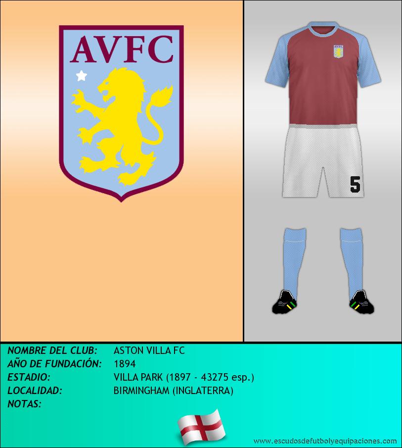 Escudo de ASTON VILLA FC