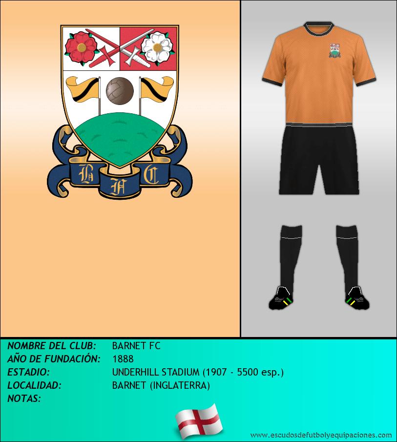 Escudo de BARNET FC