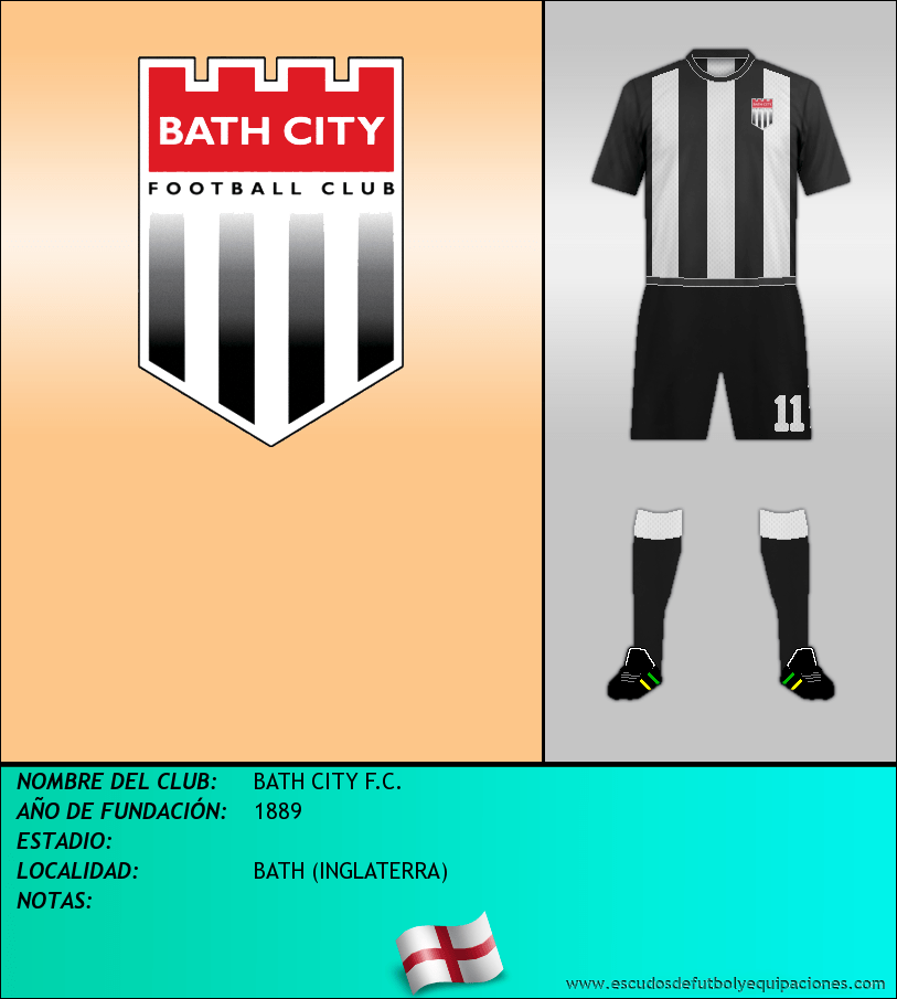 Escudo de BATH CITY F.C.