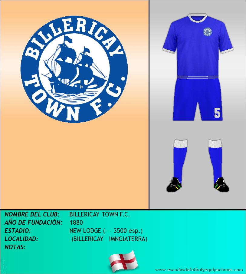 Escudo de BILLERICAY TOWN F.C.