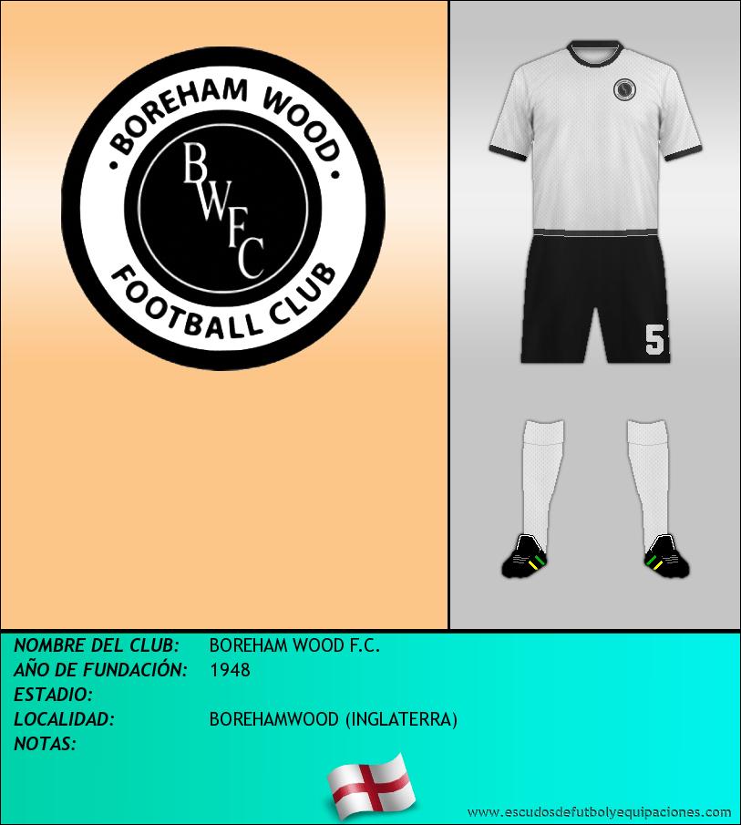Escudo de BOREHAM WOOD F.C.