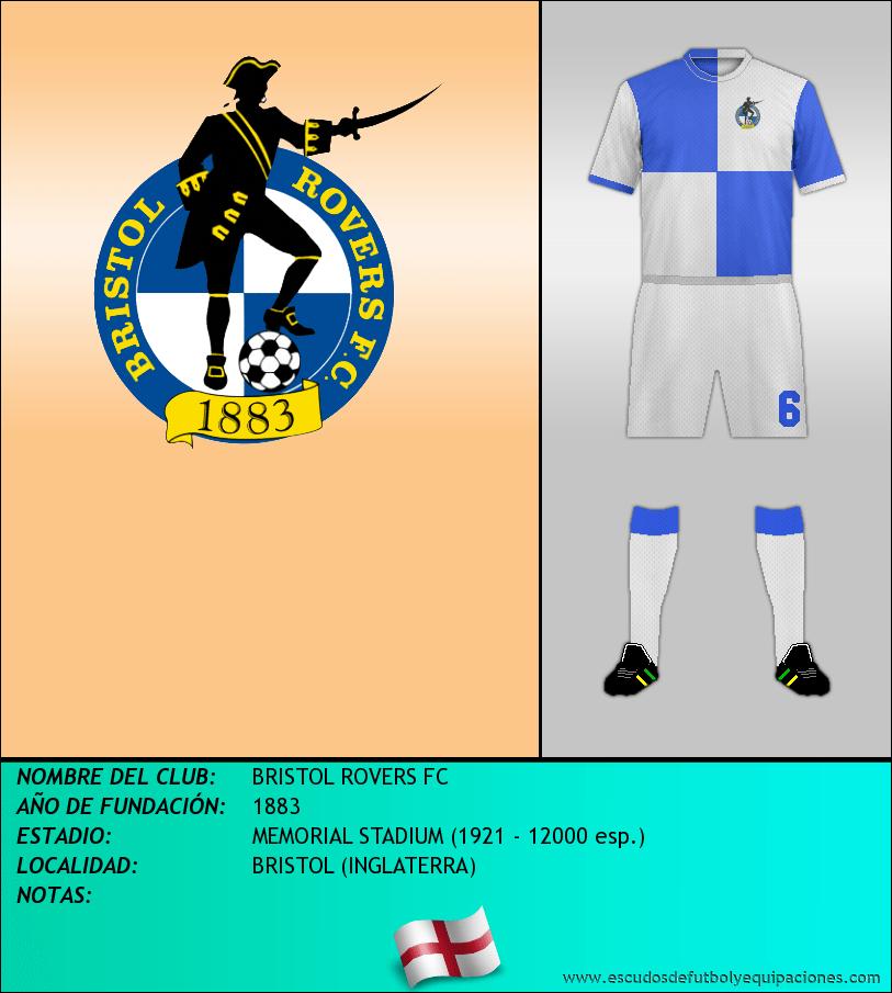 Escudo de BRISTOL ROVERS FC