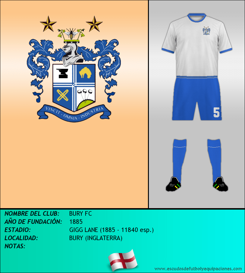 Escudo de BURY FC