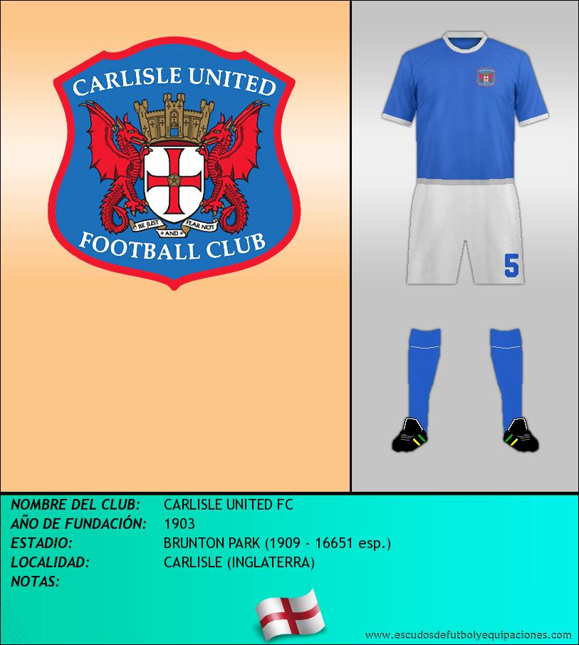 Escudo de CARLISLE UNITED FC