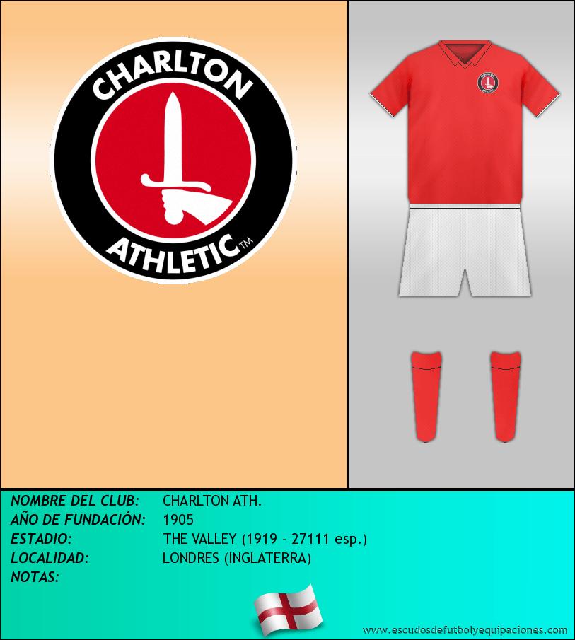 Escudo de CHARLTON ATH.